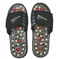 Akupresúrne masážne papuče suché zipsy (nanotextilia s magnetmi) - SJH 314A, 38 - 39