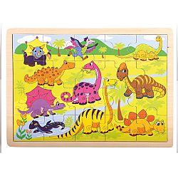 Bino Puzzle Dinosaury