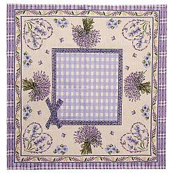 BO-MA Trading Obrus Levanduľa 2, 70 x 70 cm