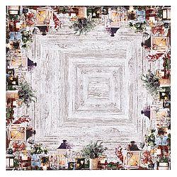 BO-MA Trading Vánoční ubrus Svícny, 85 x 85 cm