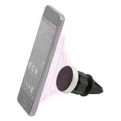 Compass Magnetický držiak telefónu do mriežky Round, čierna