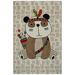 Detský Koberec Panda