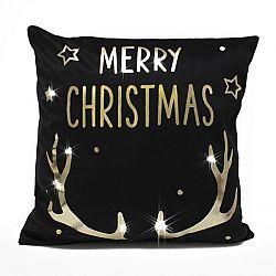 Domarex Vianočná obliečka na vankúšik Merry Christmas, 45 x 45 cm
