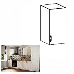 Horná skrinka G30, pravá, biela/sosna Andersen, SICILIA