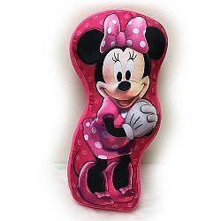 Jerry Fabrics Tvarovaný vankúšik Minnie Mouse, 34 x 30 cm