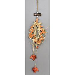 Jesenná závesná dekorácia Blade, 30 cm