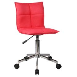 Kancelárska stolička, červená, CRAIG