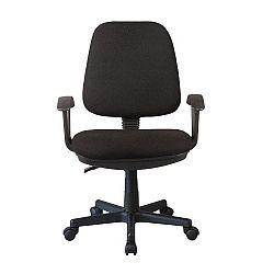 Kancelárska stolička, čierna, COLBY