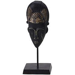 Koopman Dekoračná africká maska Kamba, 21 cm