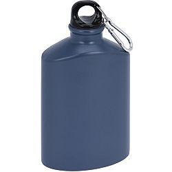 Koopman Športová hliníková fľaša s uzáverom 500 ml, grey