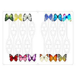 Označovač pohára Motýliky, 12 ks