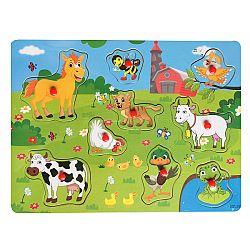 Rappa Drevená vkladačka Farma