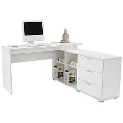 Rohový Písací Stôl Wien Ii