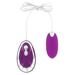 Romant vibračné vajíčko s ovládaním, fialová