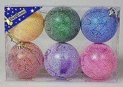 Sada vianočných ozdôb Guľa 6 ks, pr. 6 cm