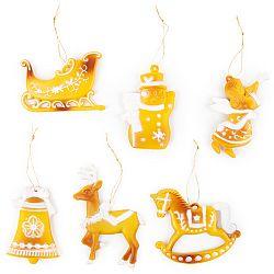 Sada vianočných ozdôb Traditionnel, 6 ks