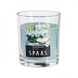 SPAAS Vonná sviečka v skle Minty Hamman, 7 cm, 7 cm