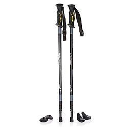 SportWell Trekingové palice Nawalla, čierna