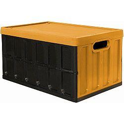 Tontarelli Rozkladacia prepravka 46L s víkem čierna/oranžová 8034118422
