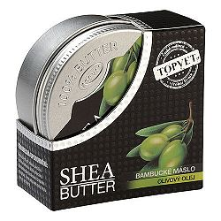 Topvet Bambucké máslo s olivovým olejom 100 ml,