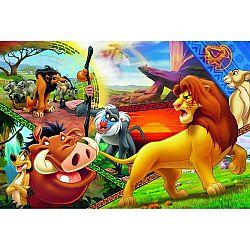 Trefl Puzzle Leví kráľ, 100 dielikov