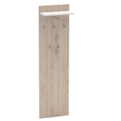Vešiakový panel, san remo/biela, RIOMA TYP 19