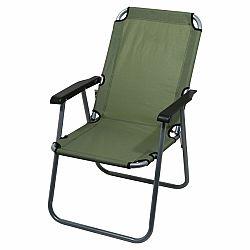Židle kempingová skládací CATTARA LYON tmavě zelená