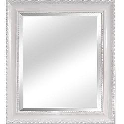 Zrkadlo, biely rám, MALKIA TYP 2